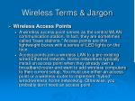 wireless terms jargon43