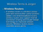 wireless terms jargon44