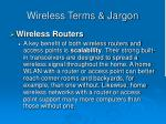 wireless terms jargon45