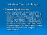 wireless terms jargon47