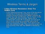 wireless terms jargon49