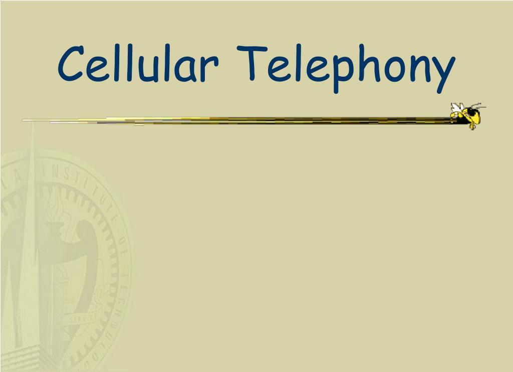 cellular telephony l.