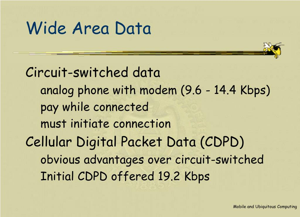 Wide Area Data