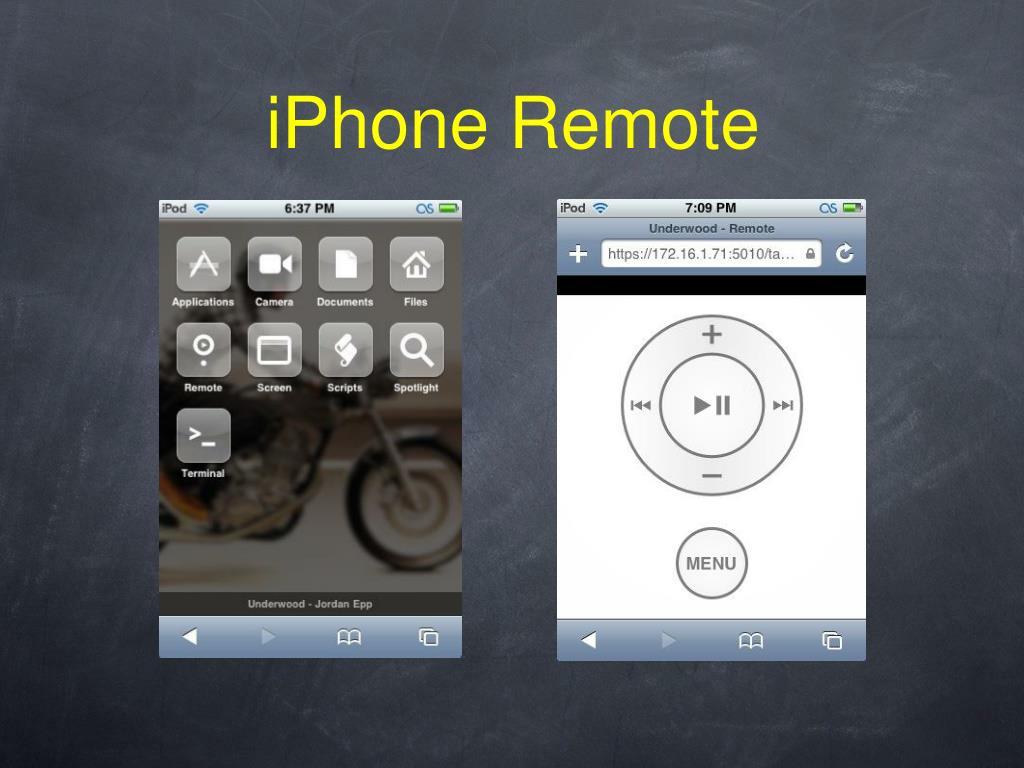 iPhone Remote