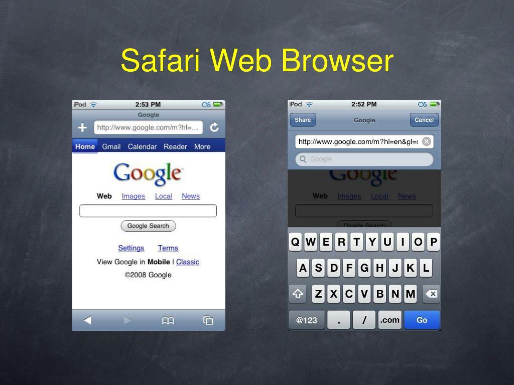 Safari Web Browser
