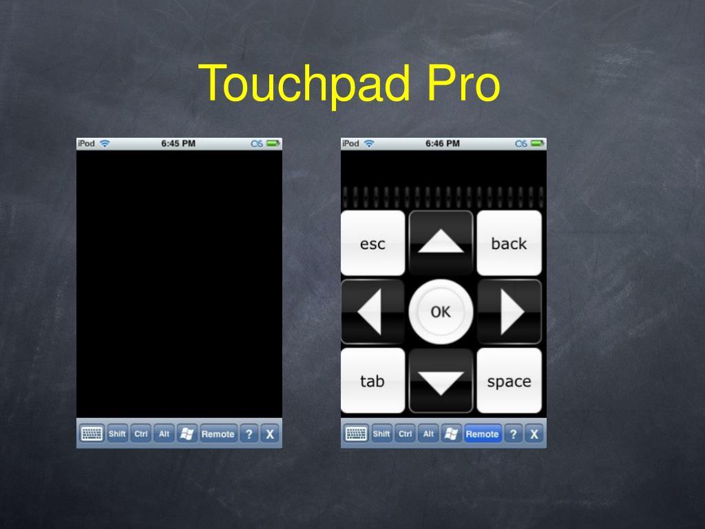 Touchpad Pro