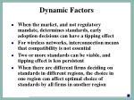 dynamic factors