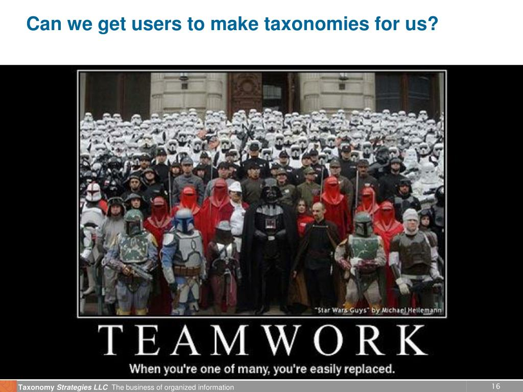 Can we get users to make taxonomies for us?