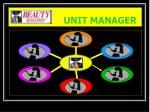 beauty sensation unit manager