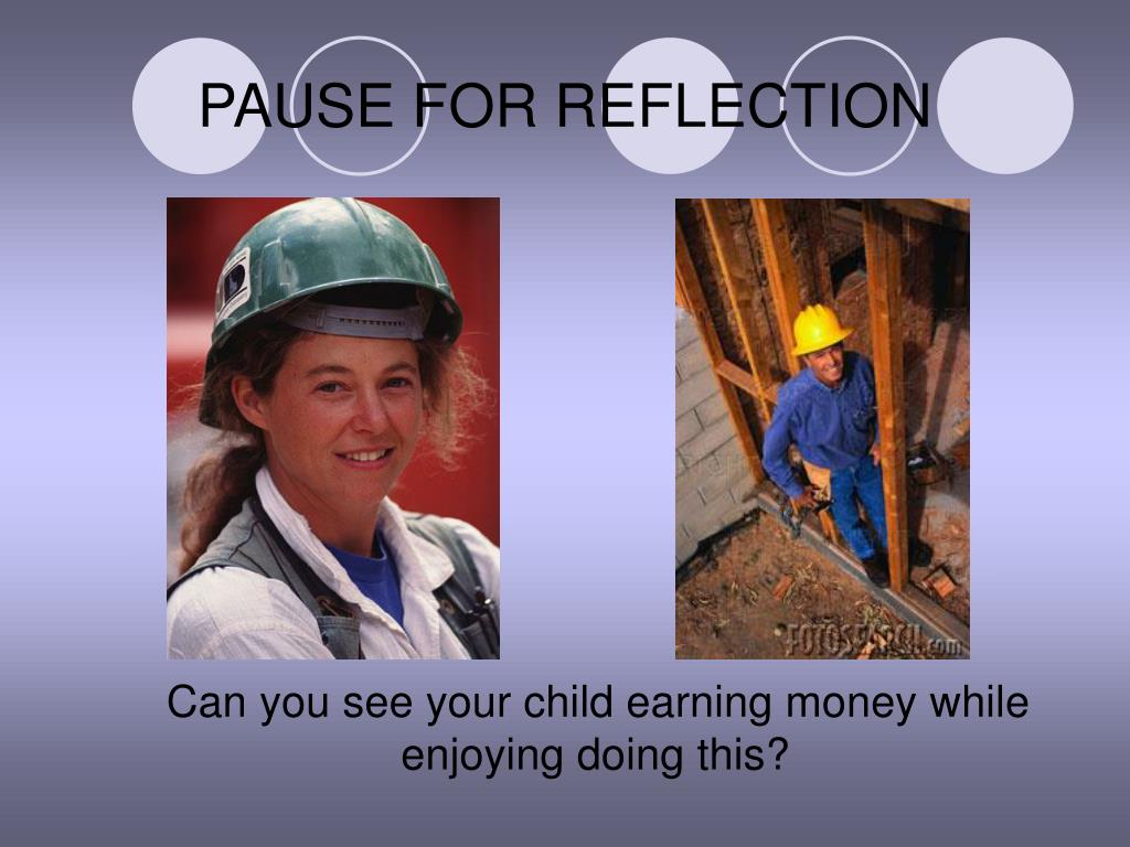 PAUSE FOR REFLECTION