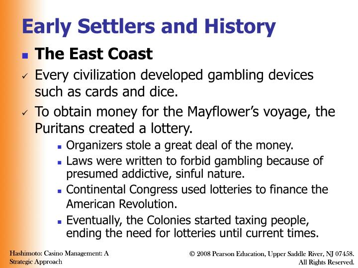 Early settlers and history