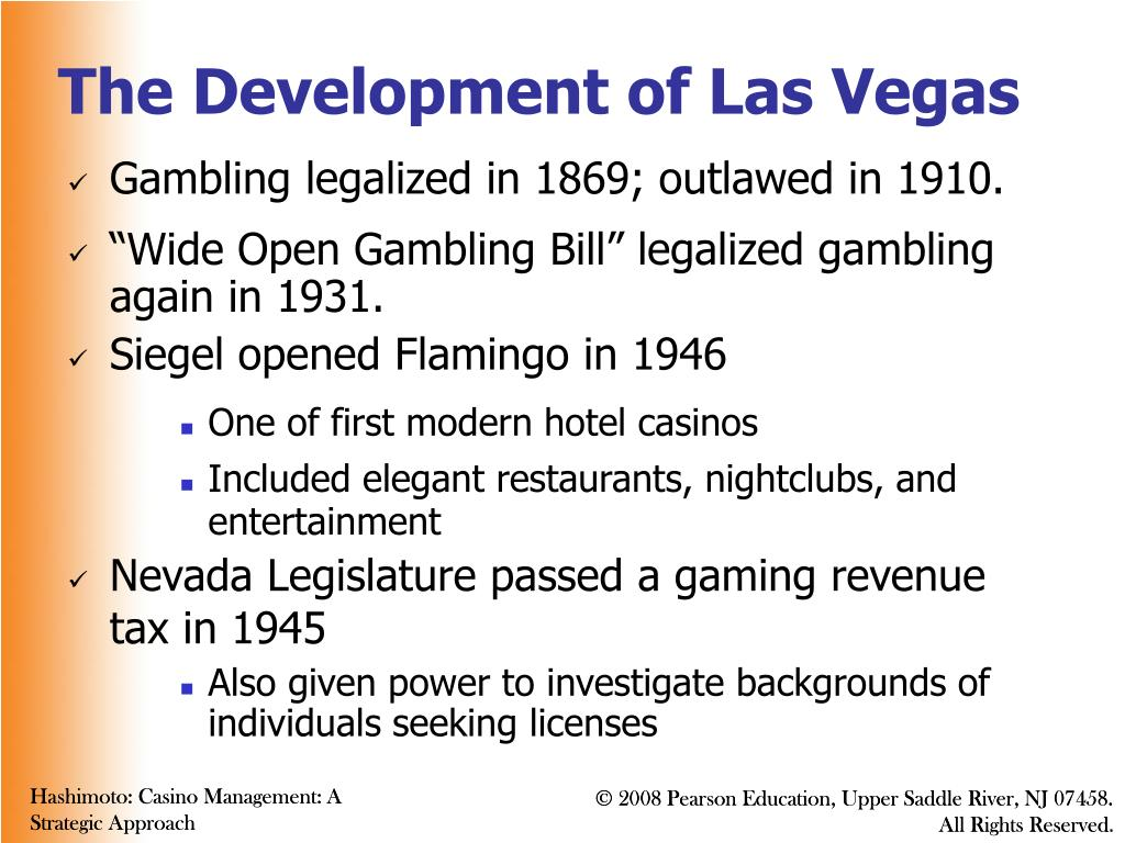 The Development of Las Vegas