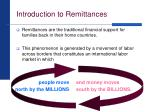 introduction to remittances