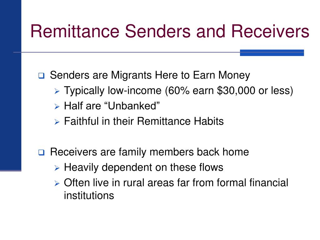 remittances economics and family members A field experiment among migrants from el control over how family members back home use the remittances they on the economics of the family.