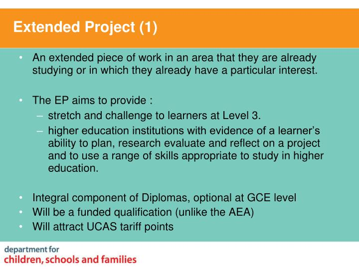 Extended Project (1)