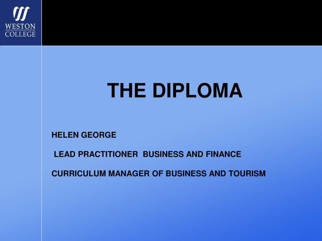the diploma l.