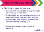 a multi purpose qualification