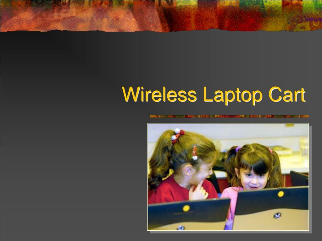 wireless laptop cart l.