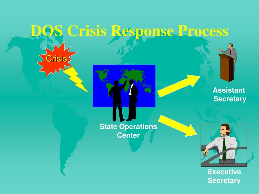 DOS Crisis Response Process