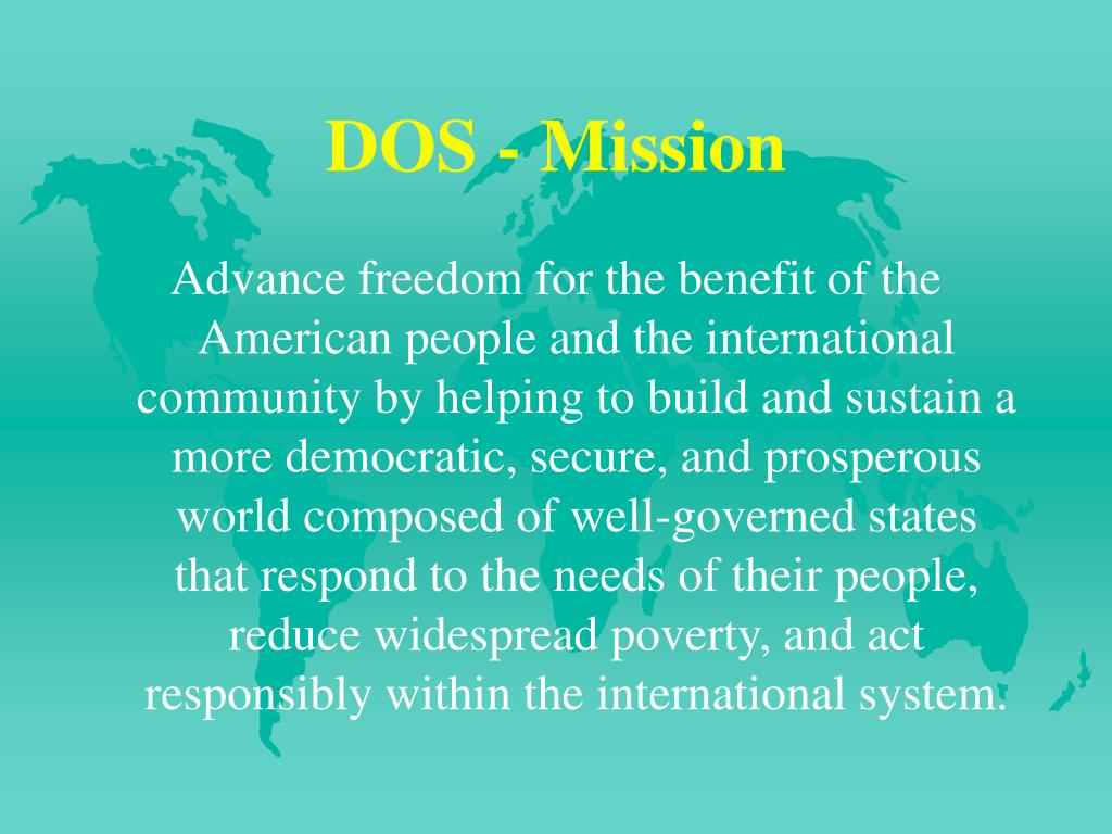 DOS - Mission