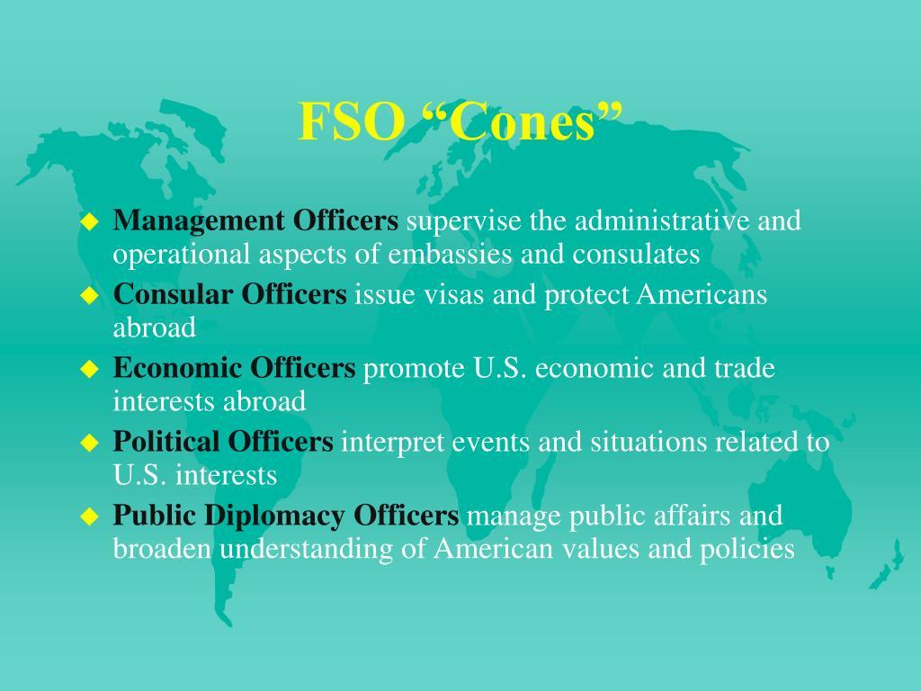 """FSO """"Cones"""""""
