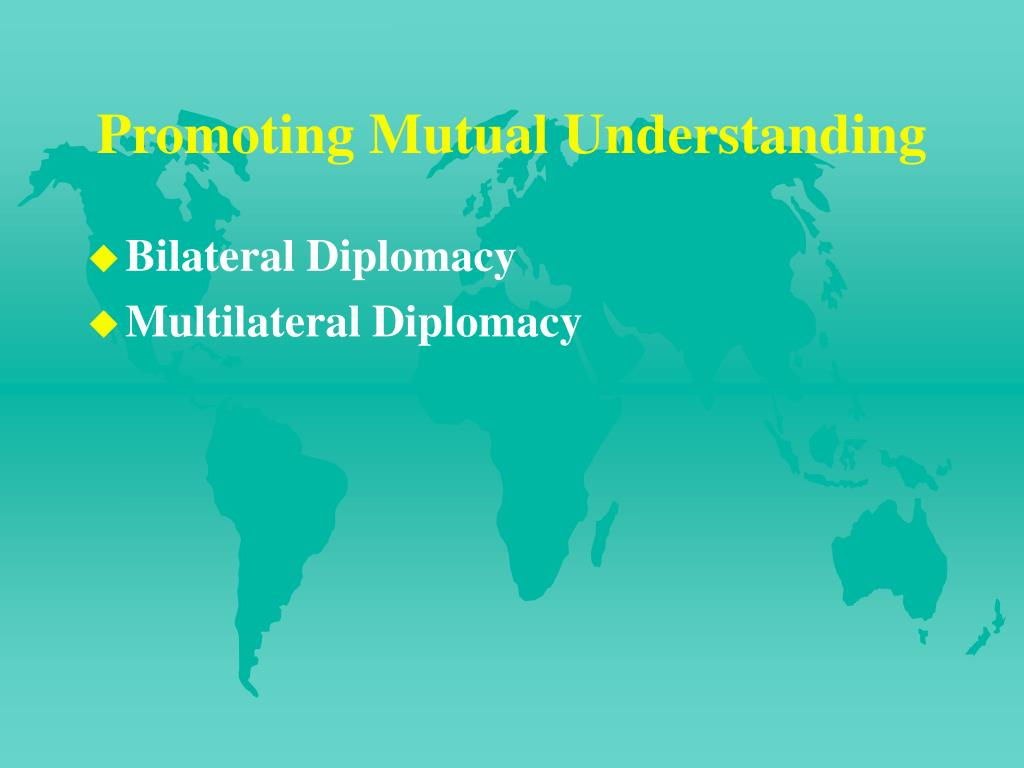 Promoting Mutual Understanding