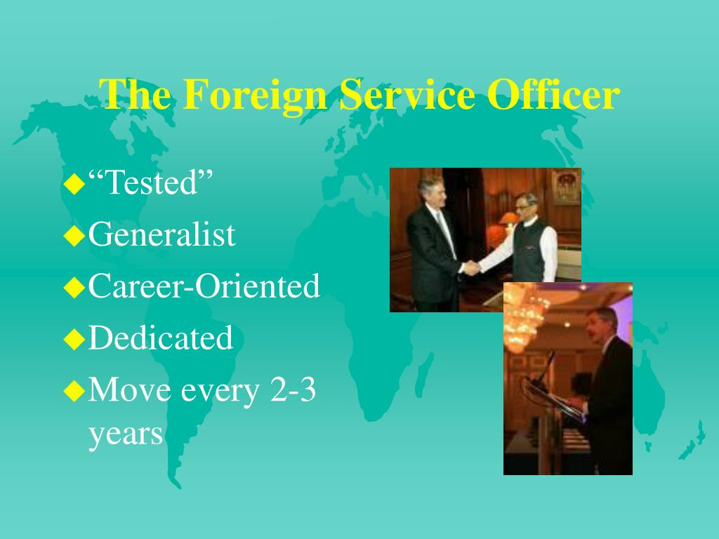 The Foreign Service Officer