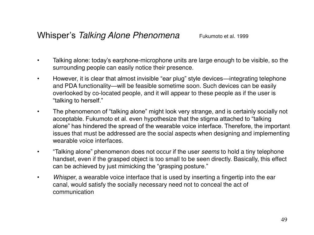 Whisper's