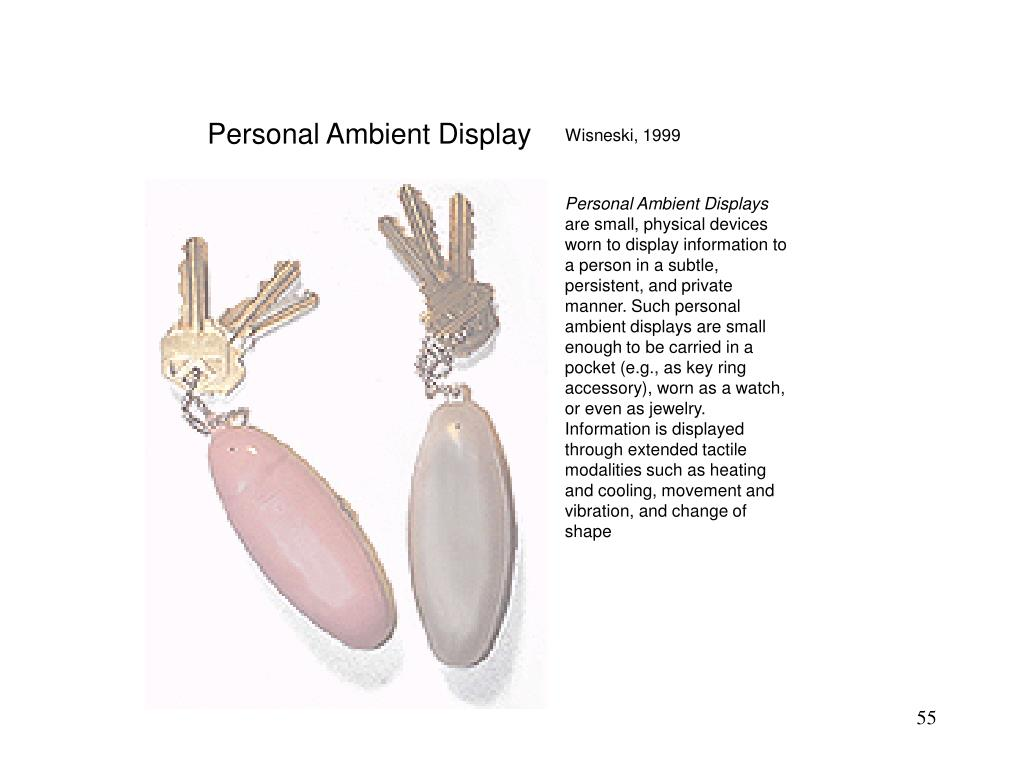 Personal Ambient Display