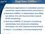 real time corba