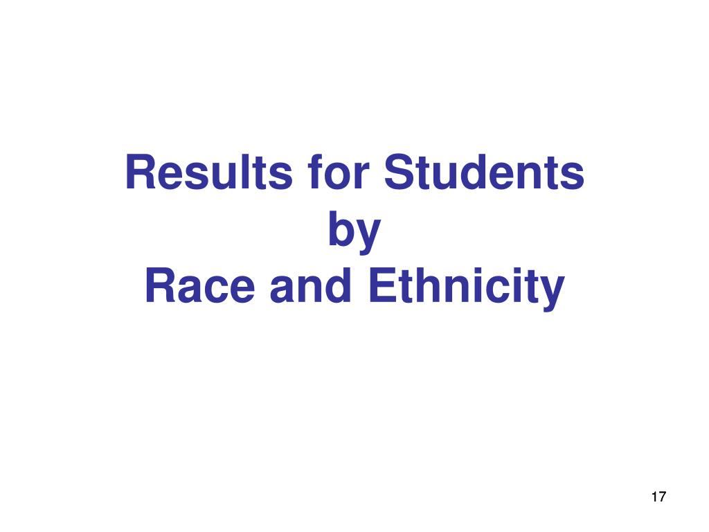 Results for Students