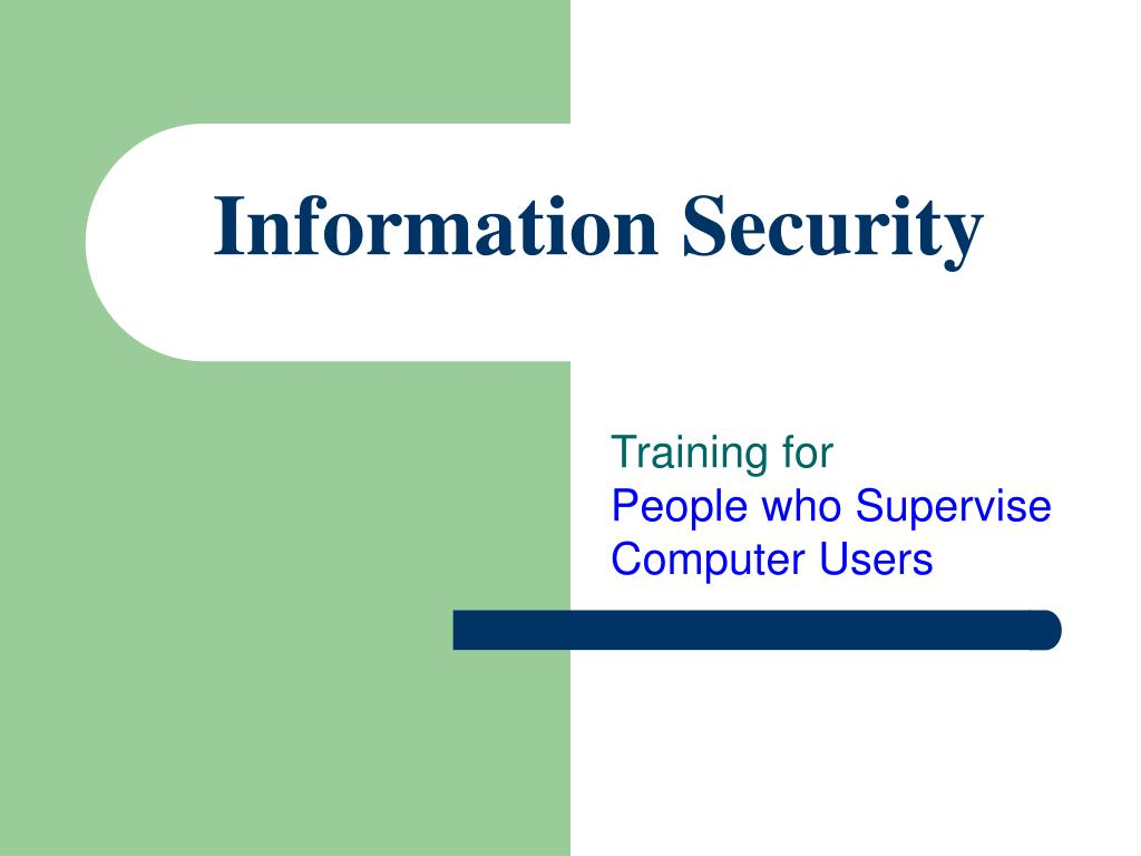 information security l.
