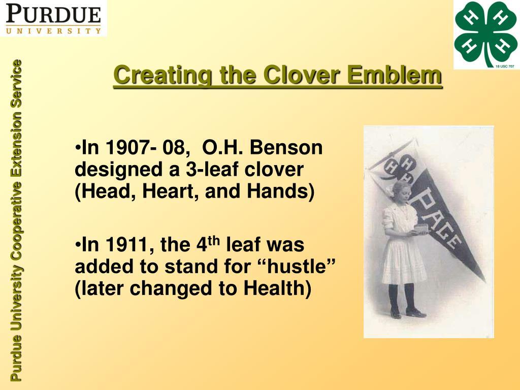 Creating the Clover Emblem