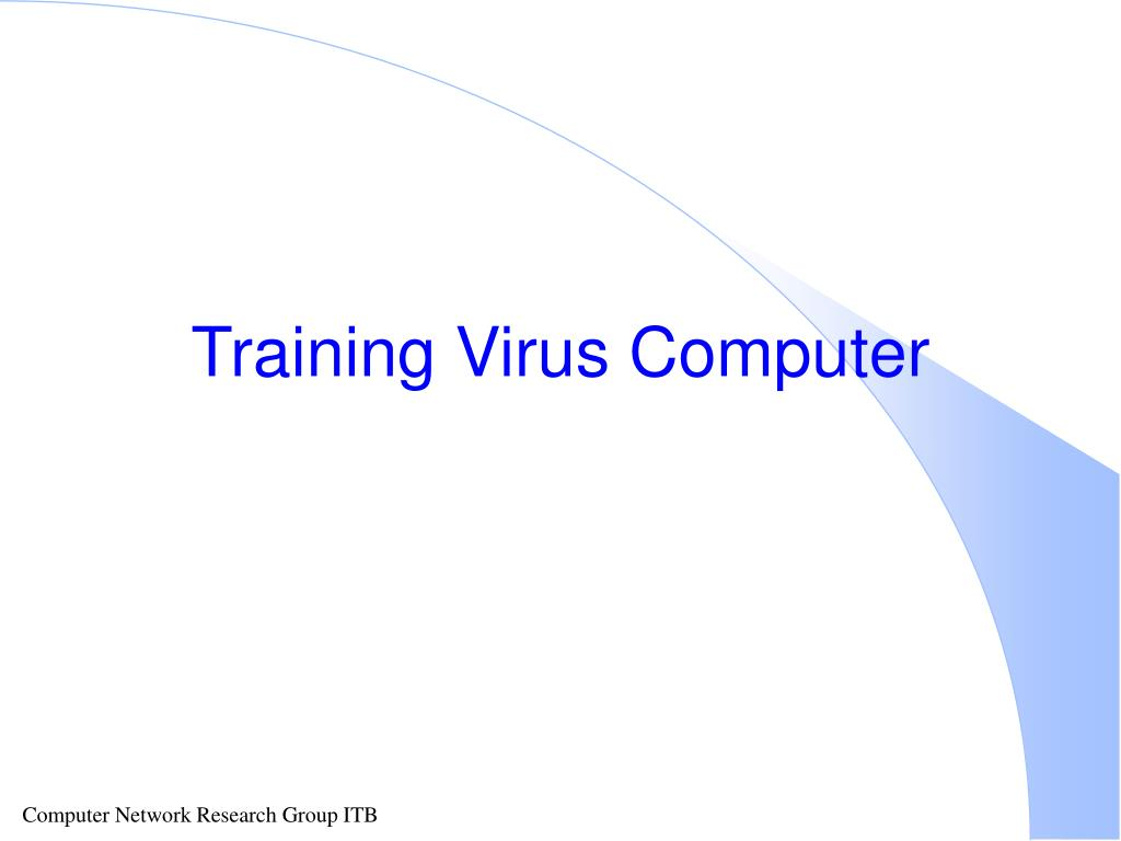 training virus computer l.