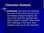 character analysis15