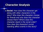 character analysis16