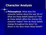 character analysis17