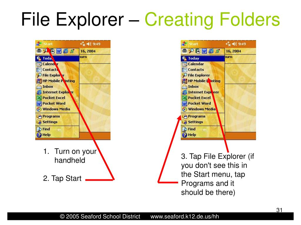 File Explorer –