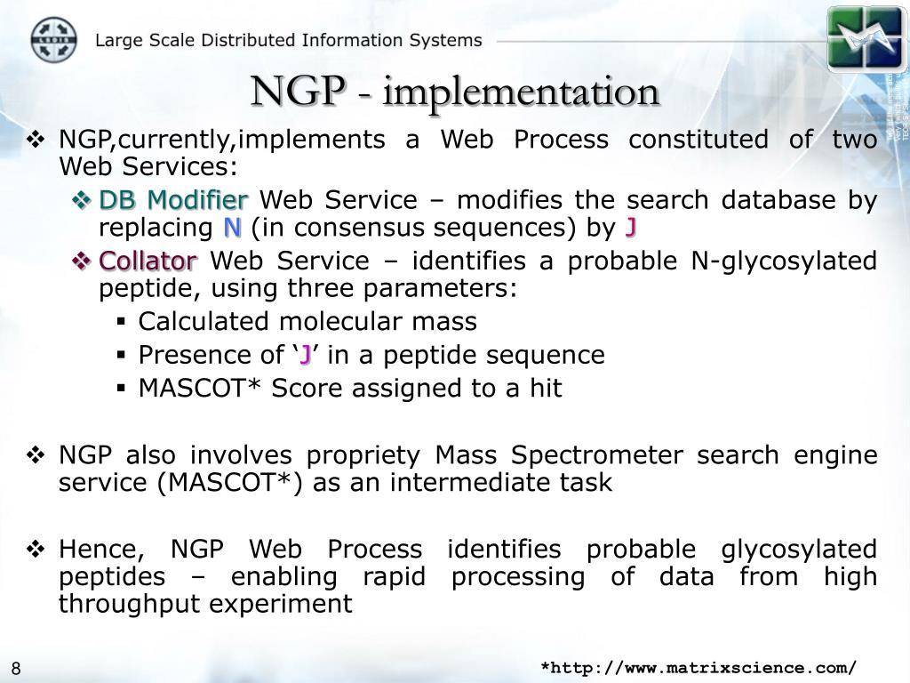 NGP - implementation