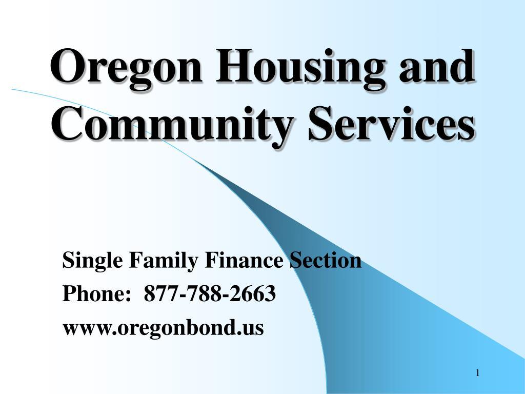 oregon housing and community services l.