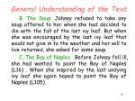 general understanding of the text10