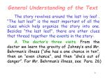 general understanding of the text9