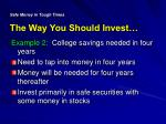 safe money in tough times the way you should invest1