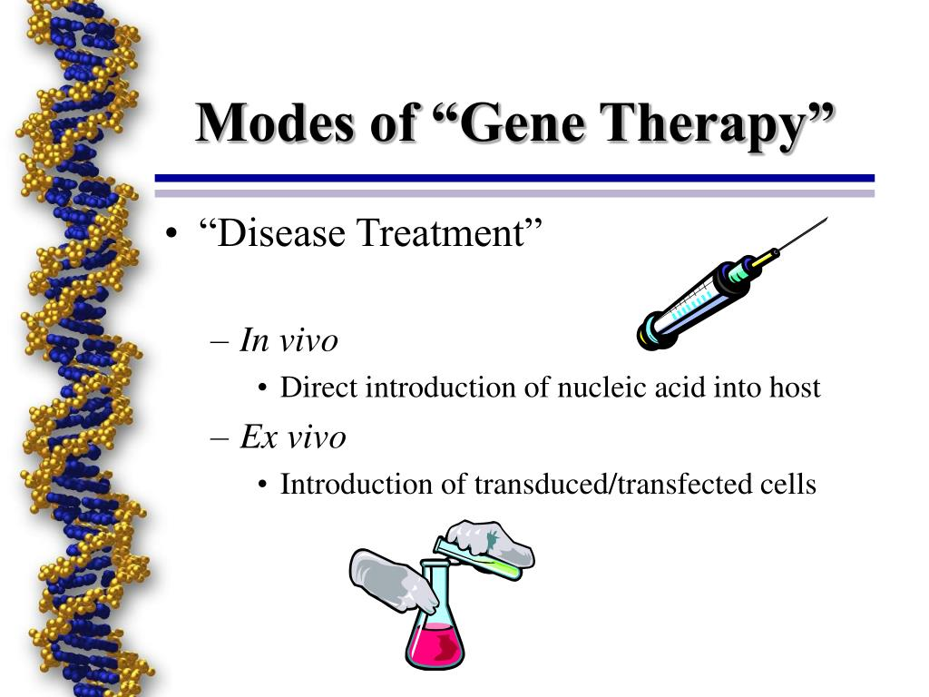 """Modes of """"Gene Therapy"""""""