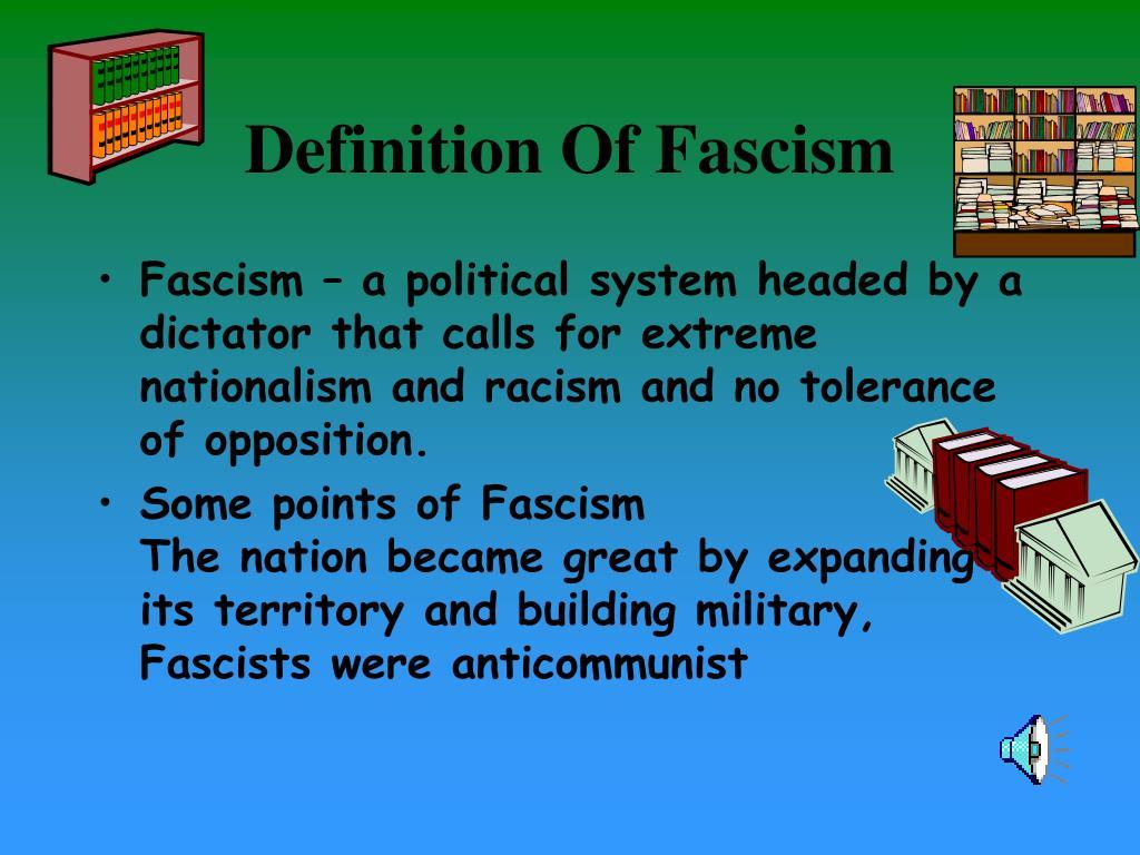 PPT - Fascism PowerPoint Presentation - ID:300081