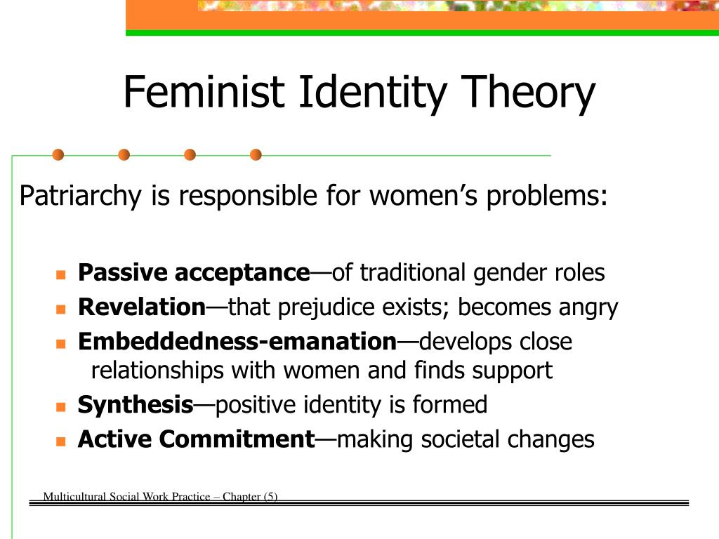 "the impact of the feminist theory on society Social workers' feminist perspectives: implications practice"" and the viewpoints taken by a social worker will impact the social social workers."