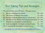 test taking tips and strategies10