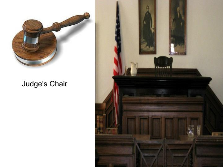 Judge's Chair