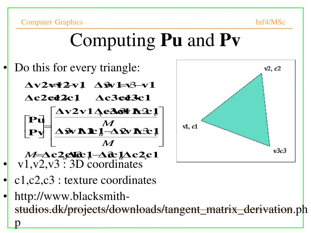 PPT - Computer Graphics PowerPoint Presentation - ID:300202