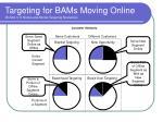 targeting for bams moving online exhibit 3 11 bricks and mortar targeting scenarios